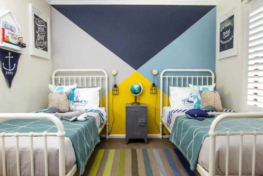 Водорастворимая краска обладает паропроницаемостью - она безвредна для детских комнат