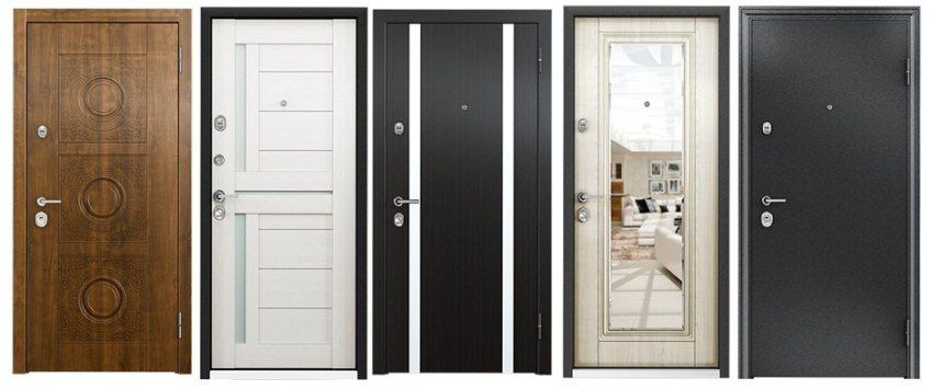 Различные варианты входных дверей для квартиры