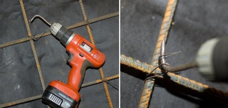 Как сделать для вязания арматуры