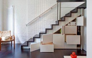 Лестницы в доме на второй этаж, фото и конструктивные особенности