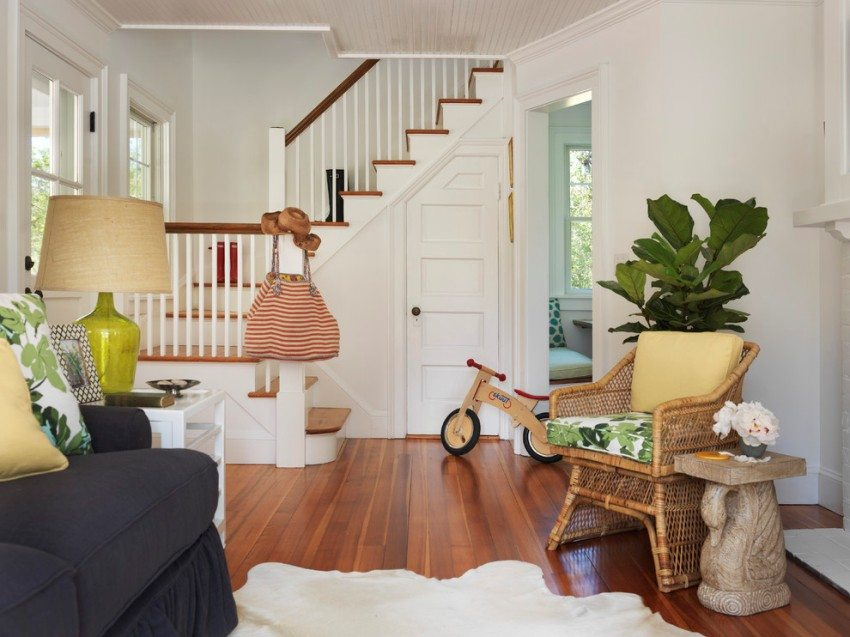 Маршевая лестница в доме