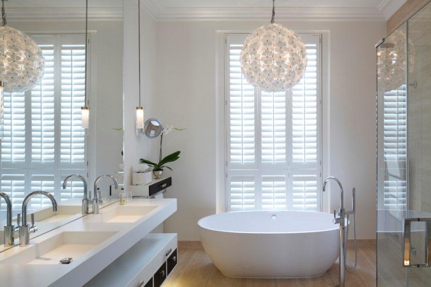 Основное и дополнительное освещение ванной комнаты