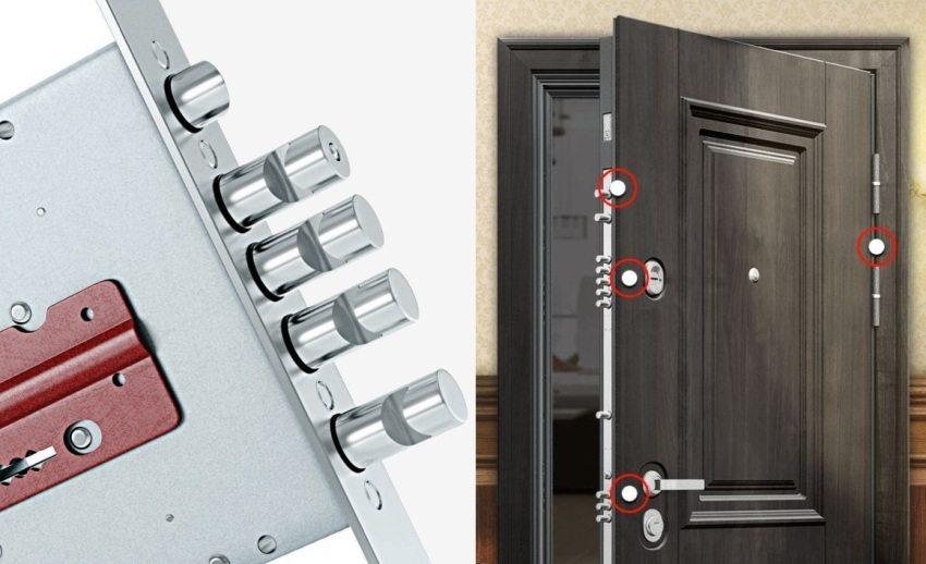 В производстве дверей Торекс использует защитные механизмы и фурнитуру Blockido