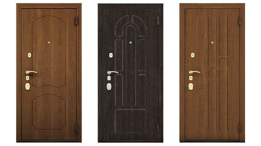 Стилевые варианты металлических входных дверей фирмы Эльбор