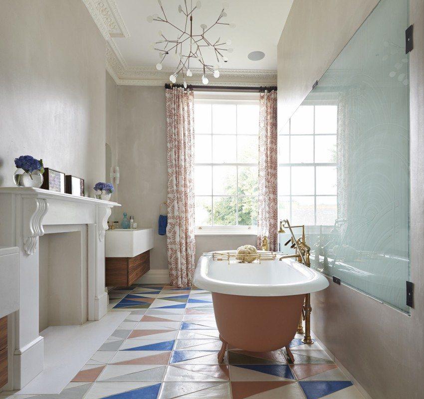 Скандинавский стиль в оформлении ванной