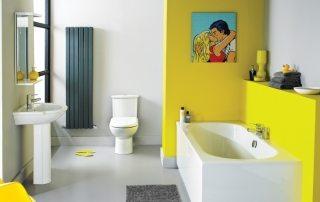 Ремонт ванной комнаты и туалета, фото интересных решений