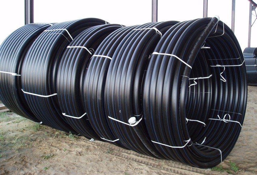 Труба ПНД выпускается в бухтах длиной 100, 200 или 1000 метров