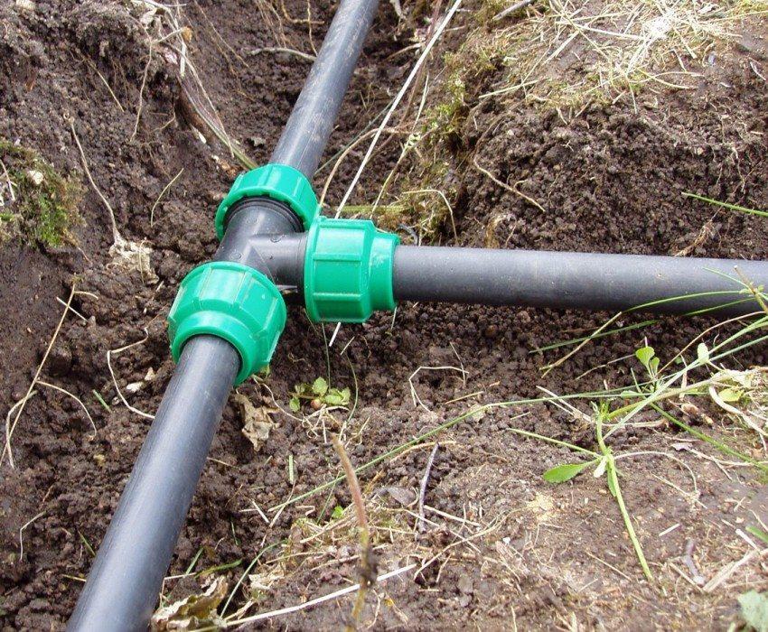 Обустройство водопроводной системы в частном доме с использованием ПНД-труб