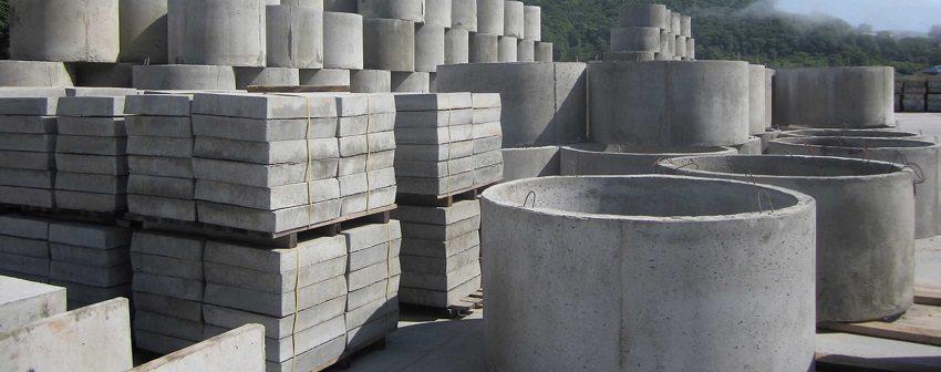 Изделия из бетона - основа строительства
