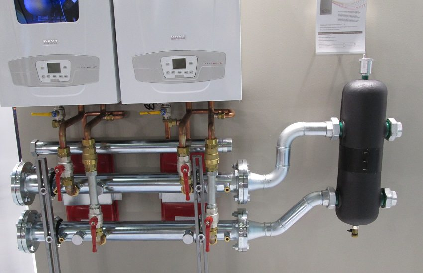 Монтаж настенного газового котла своими руками 75