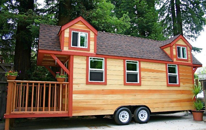 Кемпер на колесах - отличное решение для обустройства временного жилища на даче