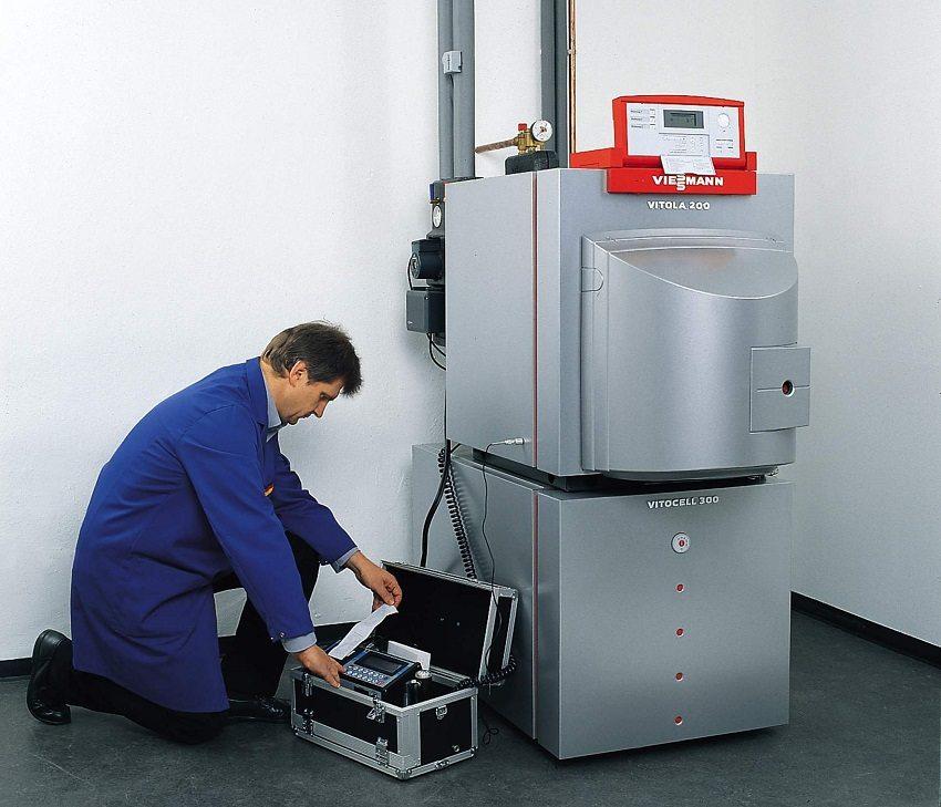 Техническое обслуживание газовых котлов доверяйте только специалистам
