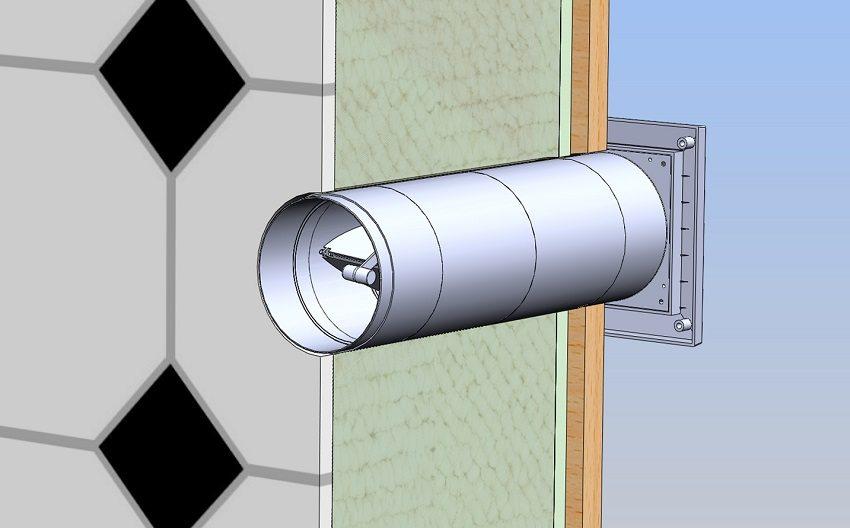 Стеновой приточный клапан - простое решение принудительной подачи свежего воздуха в помещение