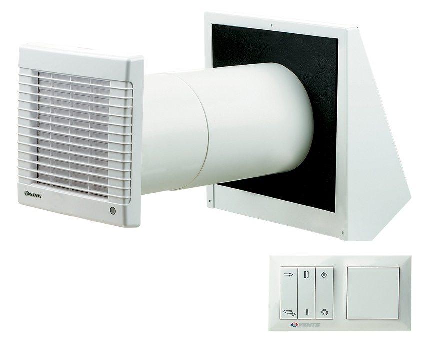Рекуператор - простое и эффективное решение для организации децентрализованной энергосберегающей вентиляции отдельных комнат