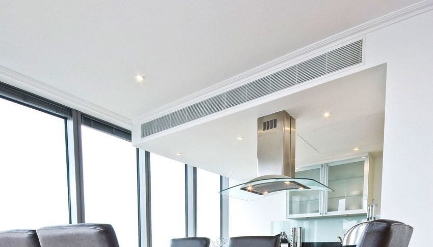 Благодаря вентиляции на кухне можно быстро избавиться от неприятных запахов