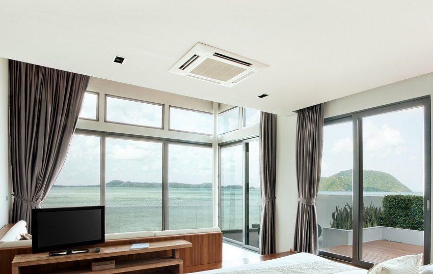 Система вентиляции обеспечит очищение приточного воздуха путем фильтрации, его нагрев, охлаждение, а иногда и увлажнение