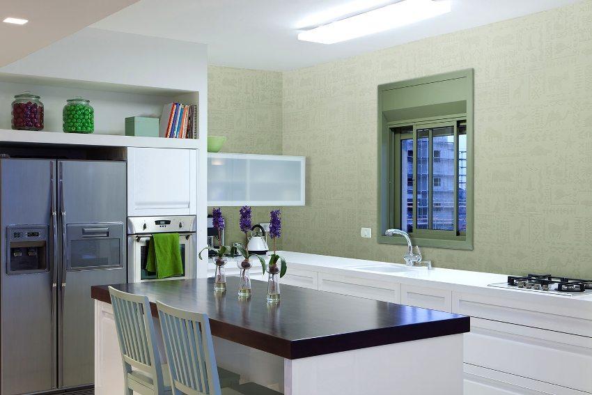 Стеклохолст - практичное решение для отделки кухонного фартука
