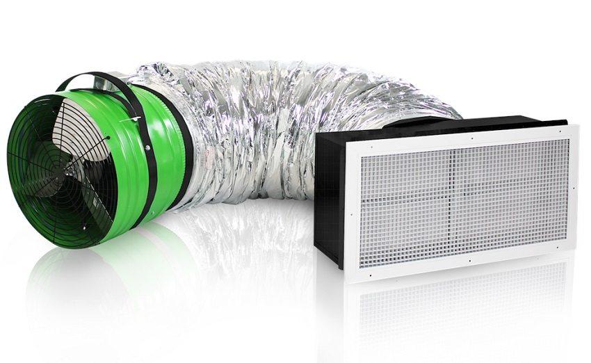 Приточный вентилятор для организации принудительной вентиляции