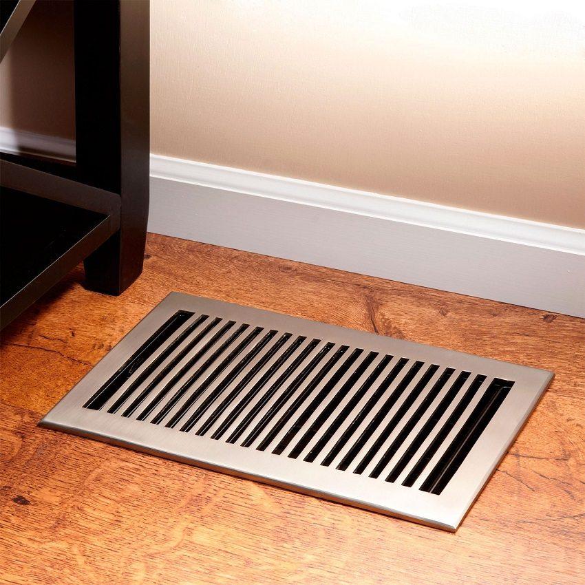 Вентилирование подпола поможет избежать гниения деревянных элементов пола и затхлого запаха в доме