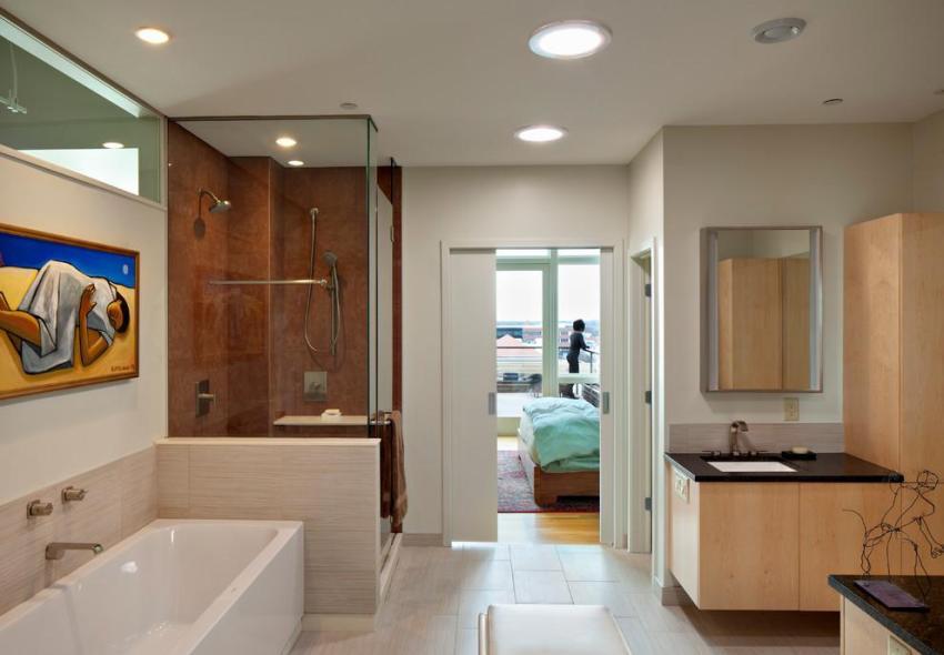 Главные требования вентиляции ванной - правильная циркуляция воздуха и снижение уровня влажности