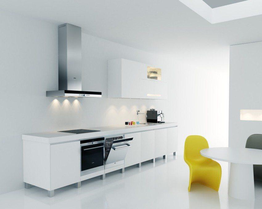 Пример местной вентиляции механического типа - кухонная вытяжка