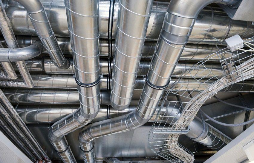 Монтаж систем воздуховодов предусматривает использование различных элементов креплений
