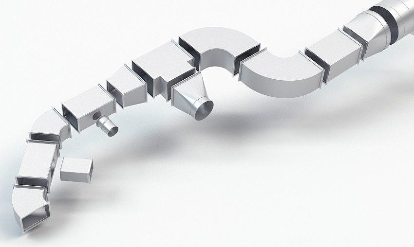 Чтобы правильно выполнить расчет диаметра воздуховода вентиляции, требуется составить схему всей системы воздуховода
