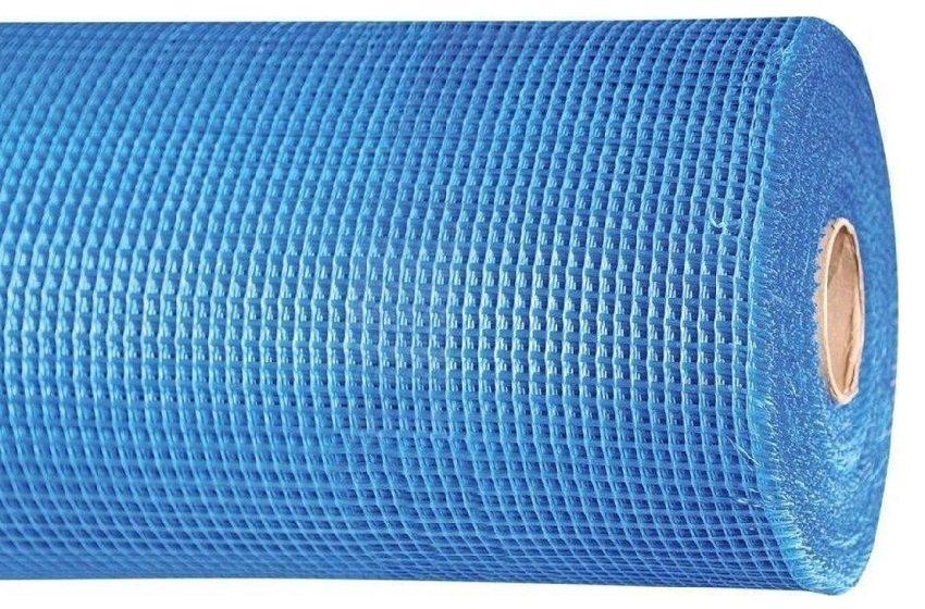 Сетка из стеклоткани устойчива к химическому и биологическому воздействию