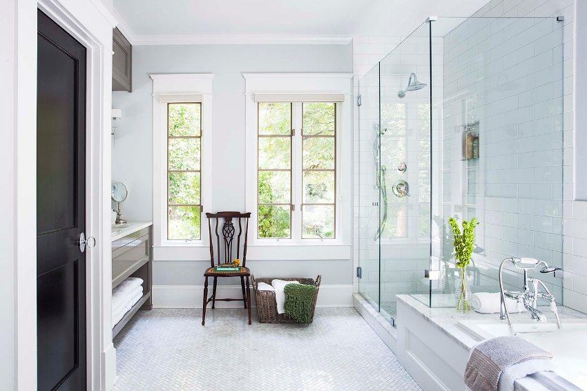 Дверь из МДФ отлично подходит для установки в ванной комнате и туалете