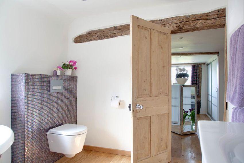 Как сделать деревянную дверь на туалет