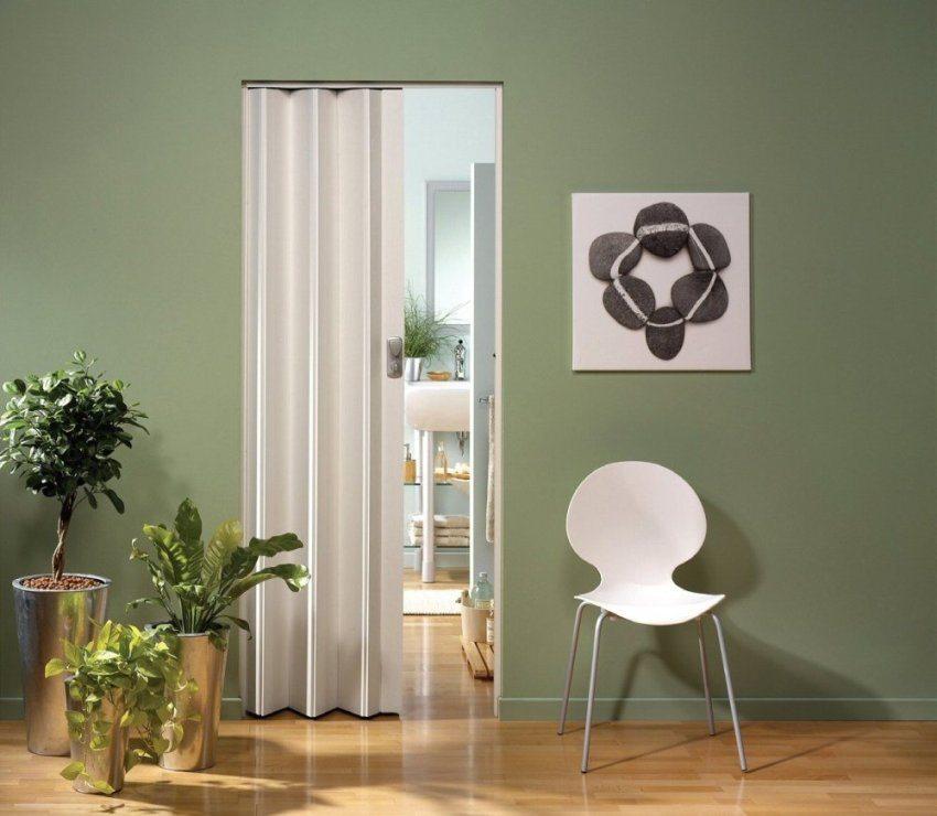 Пластиковая дверь отлично подходит для кухни и ванной комнаты