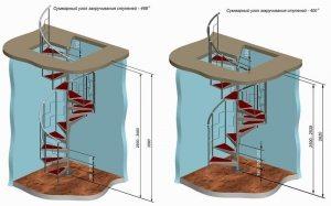 Пример 3-D проекта винтовой лестницы