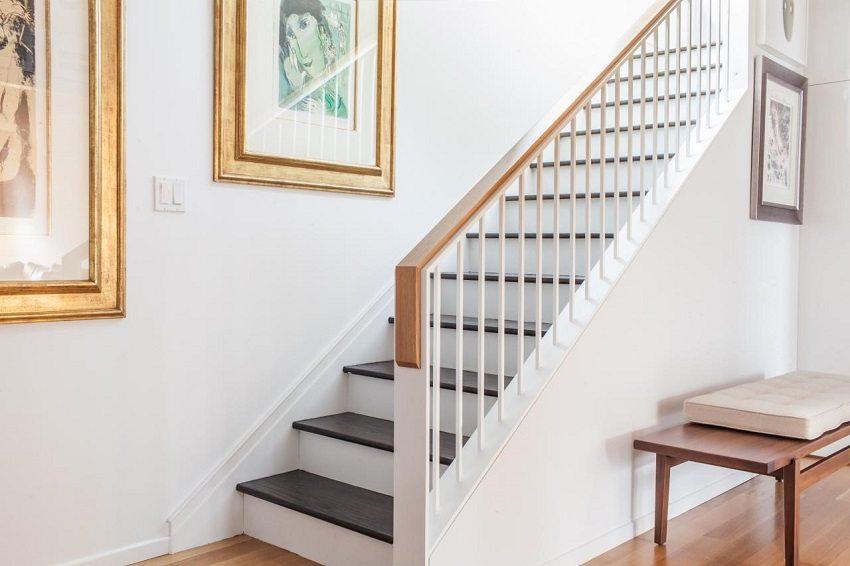 Надежные перила - залог безопасного передвижения по лестничному маршу