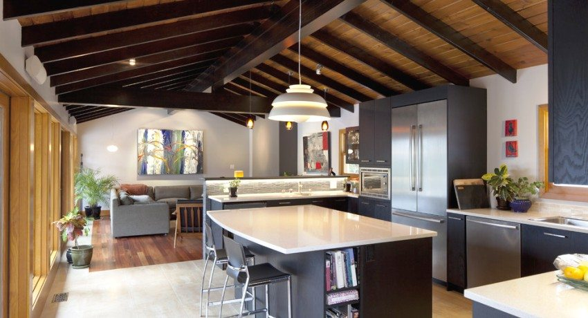 Какой потолок лучше на кухне: фото-идеи для вдохновения