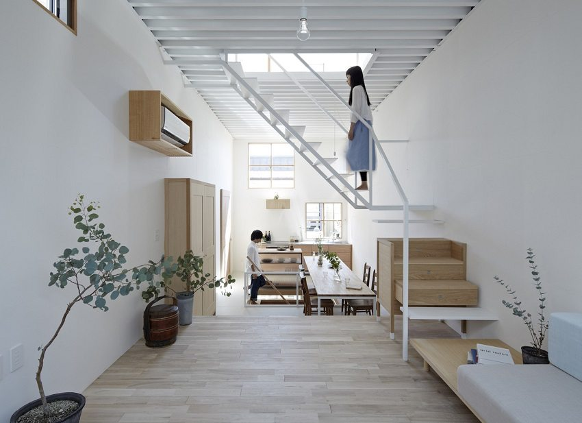 При использовании металлической лестницы гарантировано отсутствие скрипов
