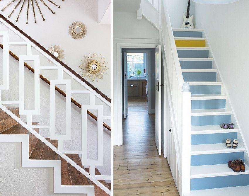 Маршевые лестницы — самый распространенный вариант обустройства лестниц в доме