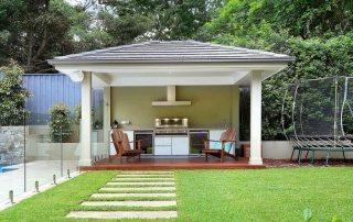 Летняя кухня на даче: проекты, фото интересных идей