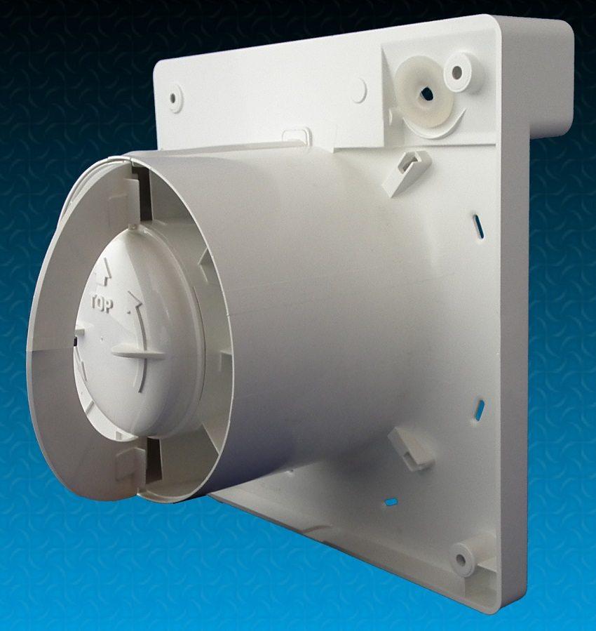Вентилятор со встроенным обратным клапаном-бабочкой