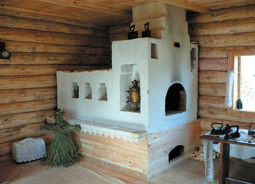 Русская печь обогревала дома многих поколений наших предков