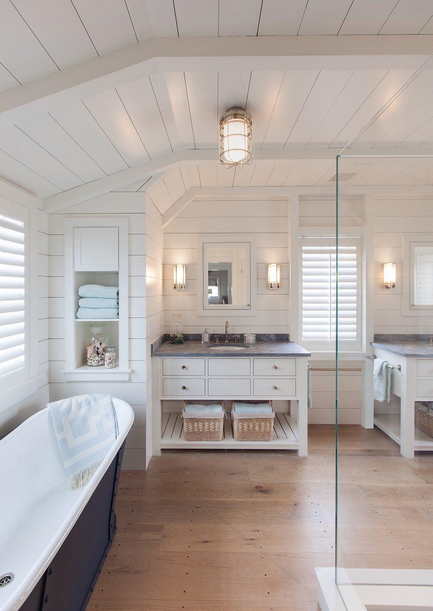 Пластиковые панели идеально подходят для отделки ванной комнаты
