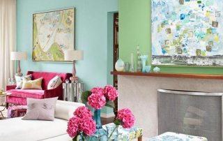 Покраска стен в квартире: дизайн, фото примеров, модные тенденции, советы профессионалов
