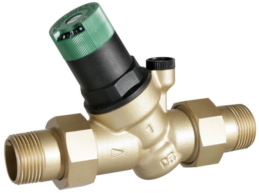 """Бытовой регулятор давления воды марки Honeywell 1/2"""""""
