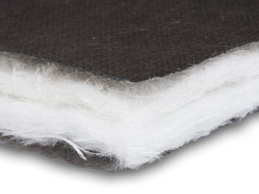 Трехслойный звукопоглощающий и звукоизолирующий материал МаксФорте на основе стекловолокна