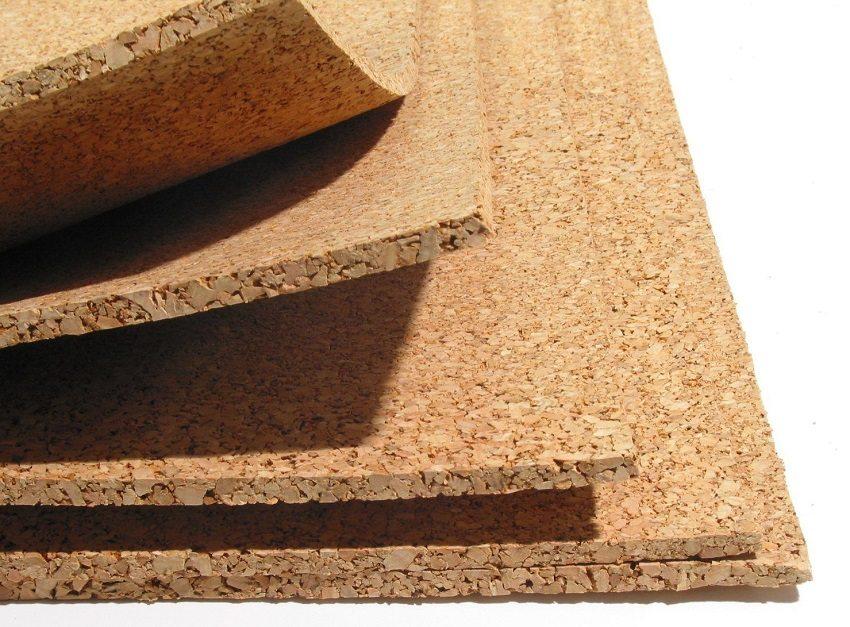 Пробковое покрытие - натуральный материал, обладающий отличными звукоизоляционными характеристиками