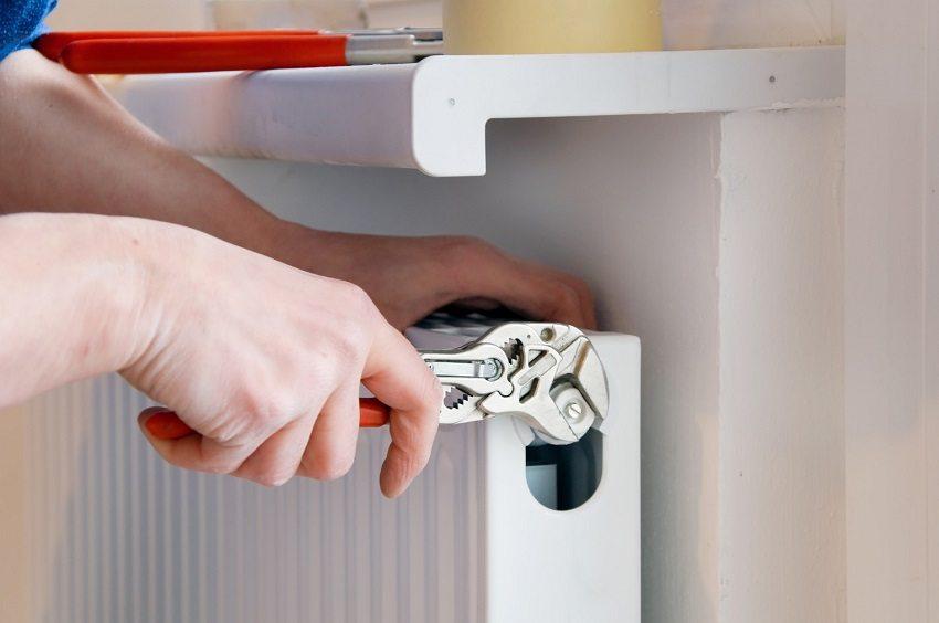 С помощью крана Маевского можно отрегулировать распределение теплоносителя в радиаторе
