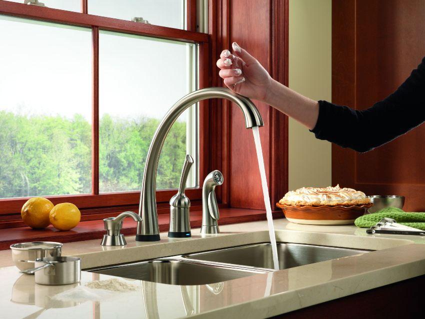 Смеситель с краном для питьевой воды - компактное и стильное решение для современной кухни