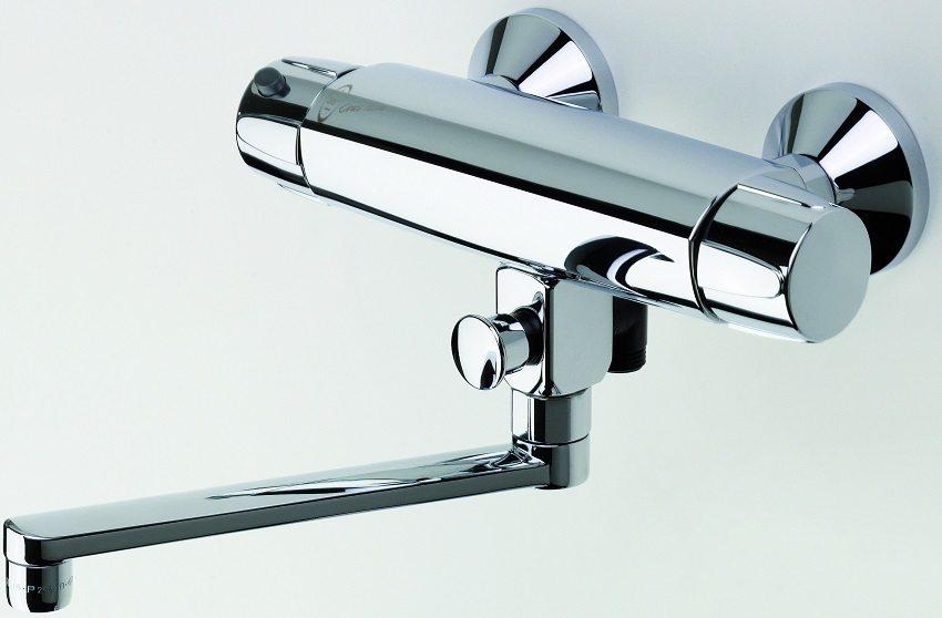 Tермостатический смеситель для ванны и душа Oras Nova