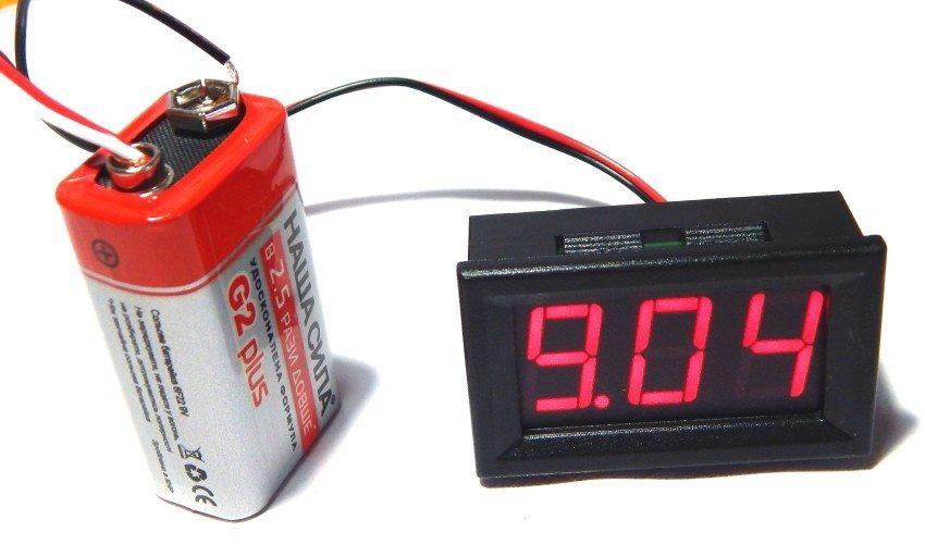Вольтметр - прибор для измерения напряжения в электросети
