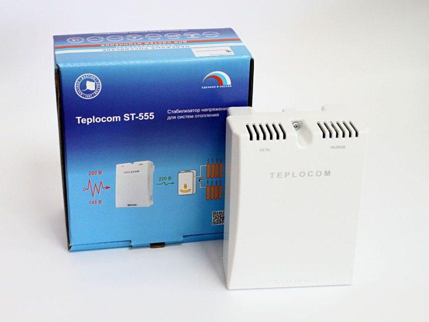 Стабилизатор напряжения для систем отопления Teplocom ST-555
