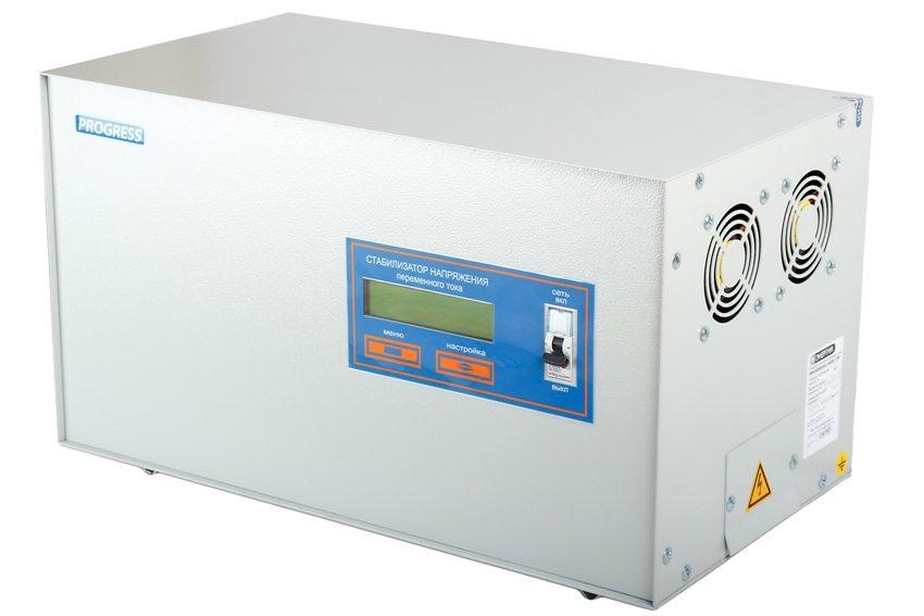 Напольный стабилизатор напряжения переменного тока Progress